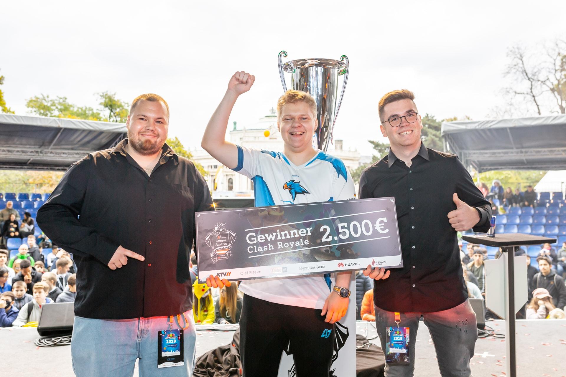A1 eSports League Austria Season 2 Clash Royale Gewinner TobiSpiritHawk