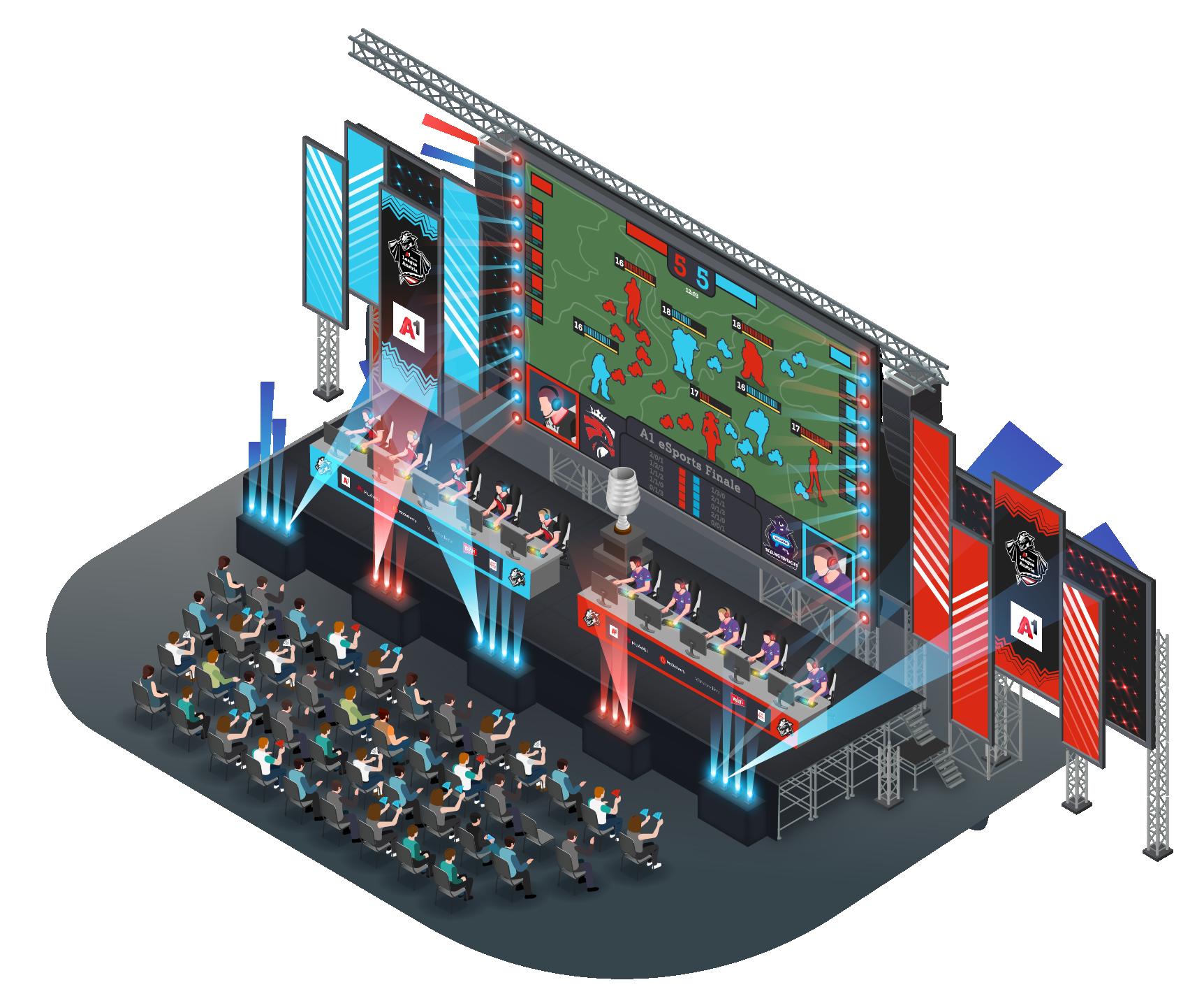 eSports Bühne